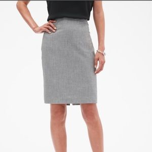 NWT grey pencil skirt